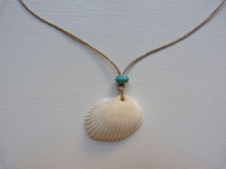 beachcomber seashell necklace by beachcomberhome on Etsy