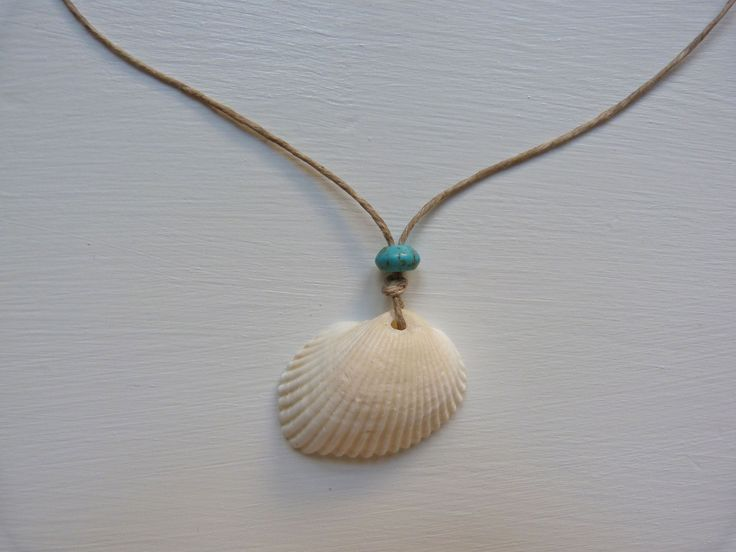 beachcomber seashell necklace by beachcomberhome on Etsy