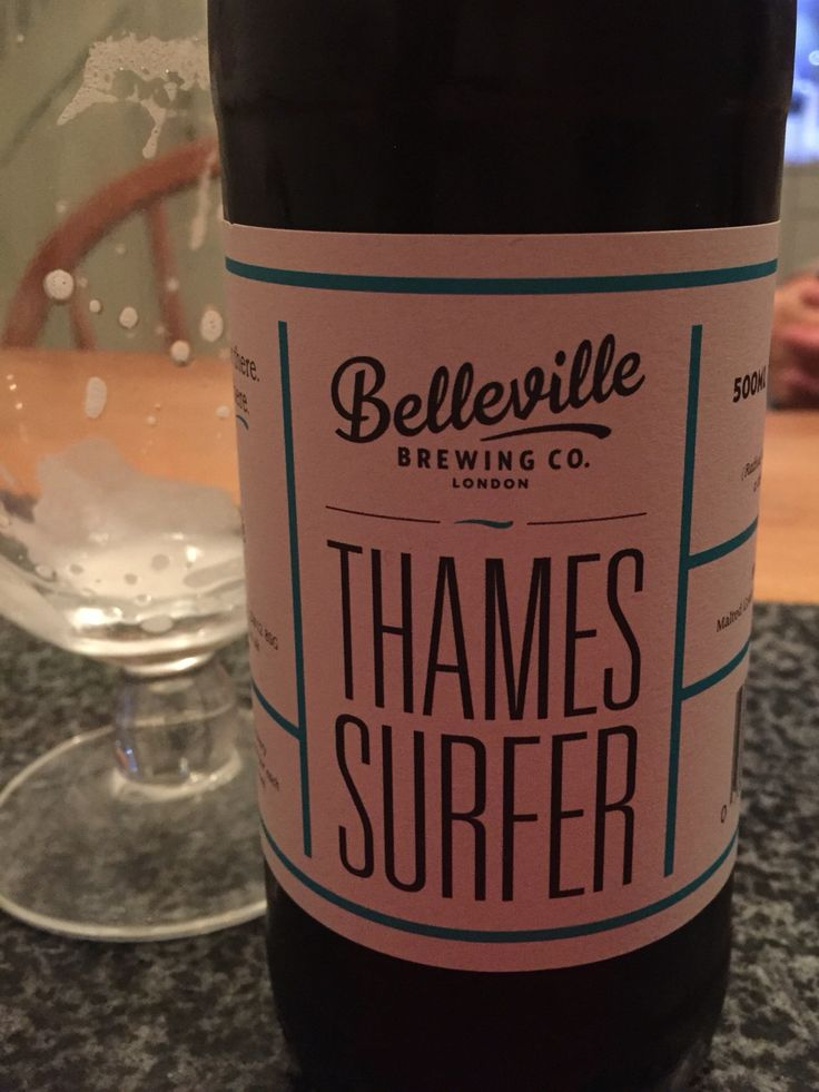 #209 Belleville Thames Surfer - Chewy, caramelly, very very hoppy 3/5 (30/09/2015)
