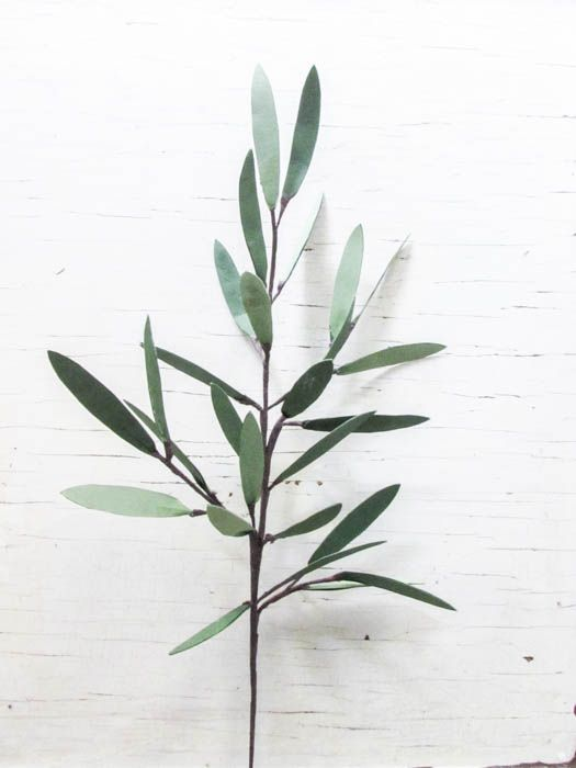DIY Paper Olive Branches - Silhouette Creators March Challenge