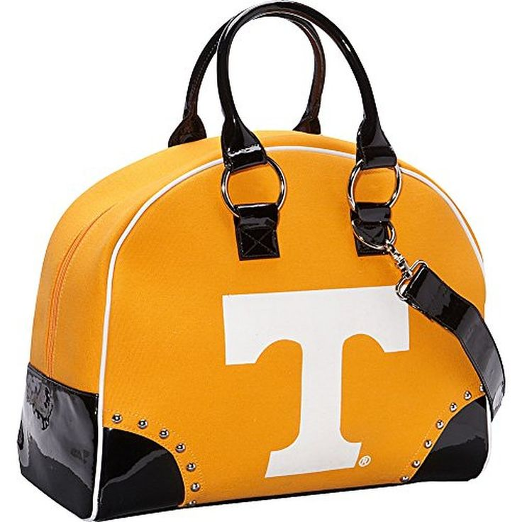 Ashley M University of Tennessee Volunteers Bowler Shaped Overnight bag