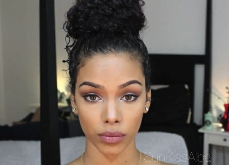 Mixed girl makeup
