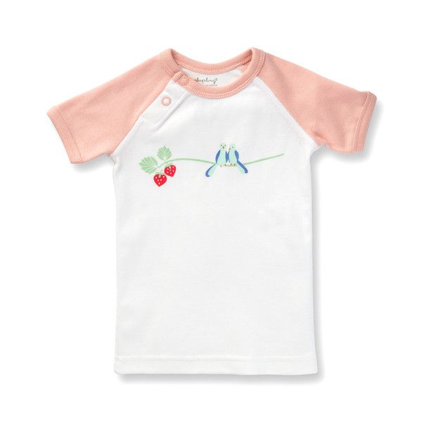 This Graphic Tee is exclusively designed by Sapling, an Australian company specialising in the most comfortable, highest quality 100% organic cotton children's wear.      Flight Collection - Bluebirds Design Made from the finest organic cotton - 100% GOTS certified. Printed with organic, 100% GOTS approved water-based dyes. Snap buttons at the neck for easy changing. Closed, flat-seam stitching protects baby from irritating inner seams and provides greater strength for quality and longevity.