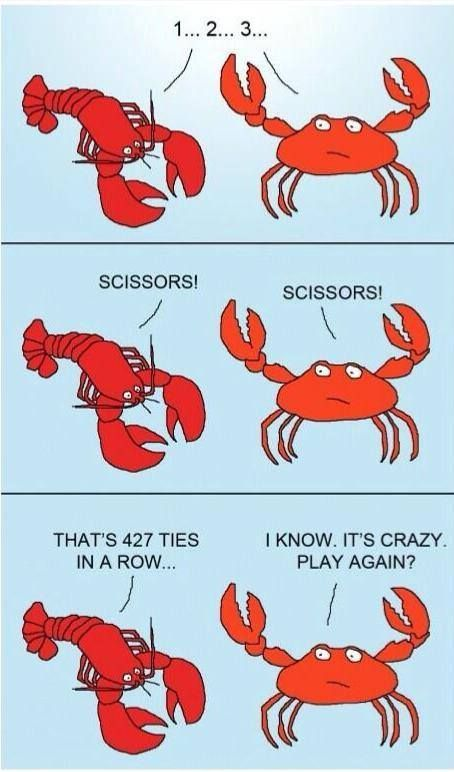 Lobsters and Crabs Funnies Comics