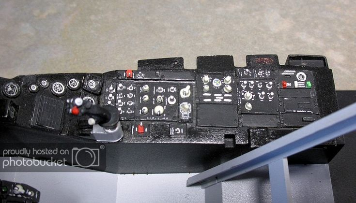Esci 112 f16 cockpit converted to f16am ready for
