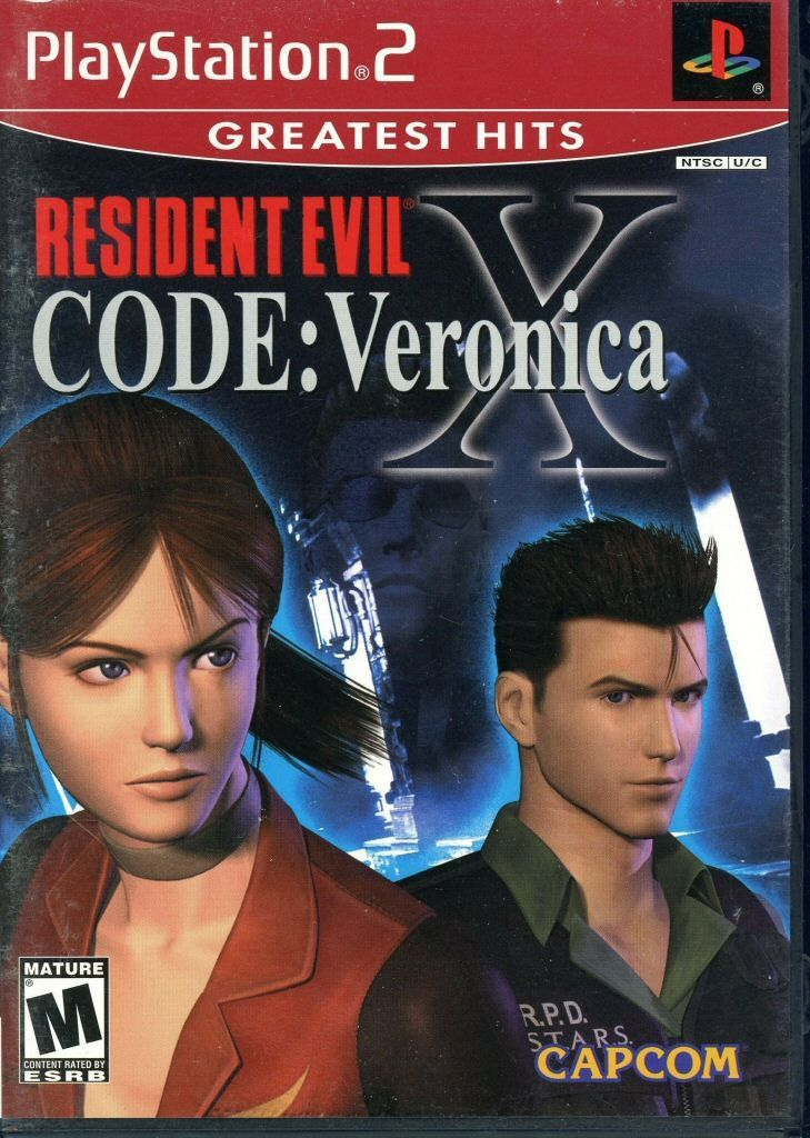 Resident Evil CODE Veronica X [Greatest Hits] (Sony PlayStation 2, 2002) Complete
