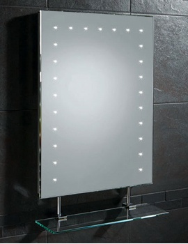 Image of HIB Keo Demistable LED Mirror With Shaver Socket 500 x 700mm | 73106000