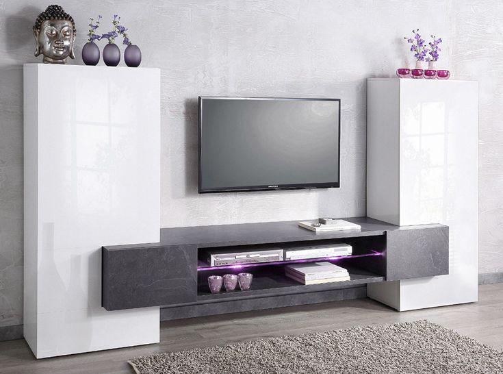 Modern Italian TV Stand / Wall Unit AKORD - $1,275