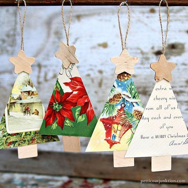 Handmade Christmas Tree Ornaments Ideas