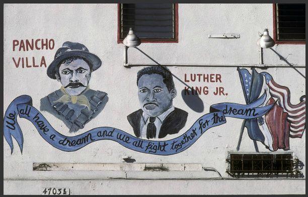 mural photography by Camilo Jose Vergara Los Angeles, 1997