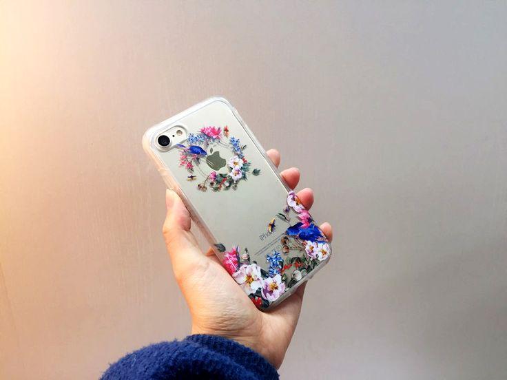 우아하고 사랑스러운 #패치웍스 #보테닉가든 #블루버드  화려한 5가지 패턴의 #보테닉가든컬렉션 을 만나보세요:)  #iphone7 #iphone7plus #iphone #iphonecase #apple #patchworks