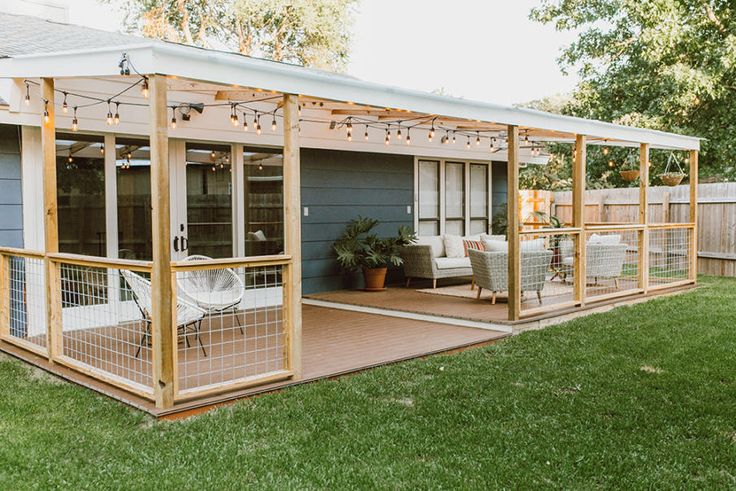 15 Covered Deck Ideas & Designs for Your Most Awesome Outdoor Project – Chris Maller