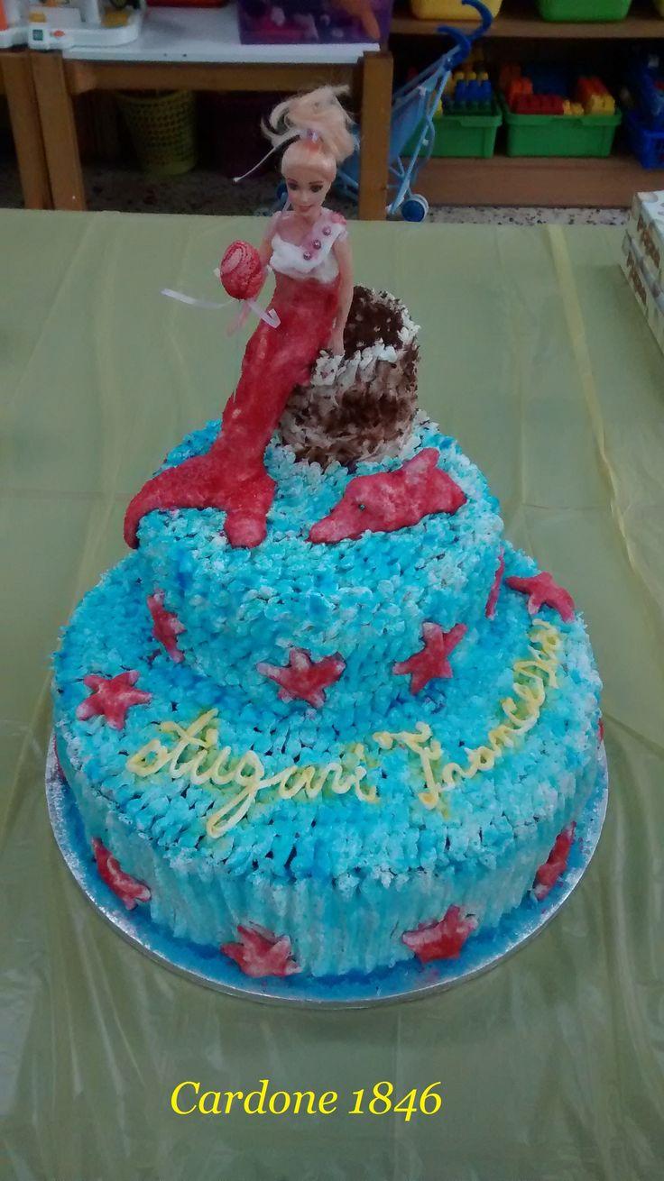 Barbie Merliah cake