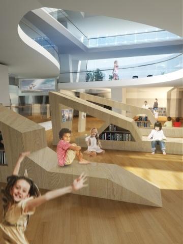 Gosan Library International Design Competition by TheeAe LTD. - News - Frameweb
