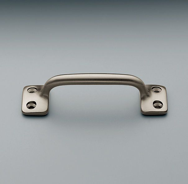 Kitchen Cabinet Handles Restoration Hardware: Aubrey Pull Restoration Hardware/Satin Nickel Finish/31/2