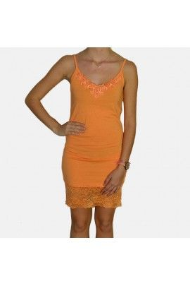 Fond de robe orange DIBA de chez B.Young