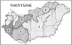 """Képtalálat a következőre: """"magyarország nagytájai vaktérkép"""""""