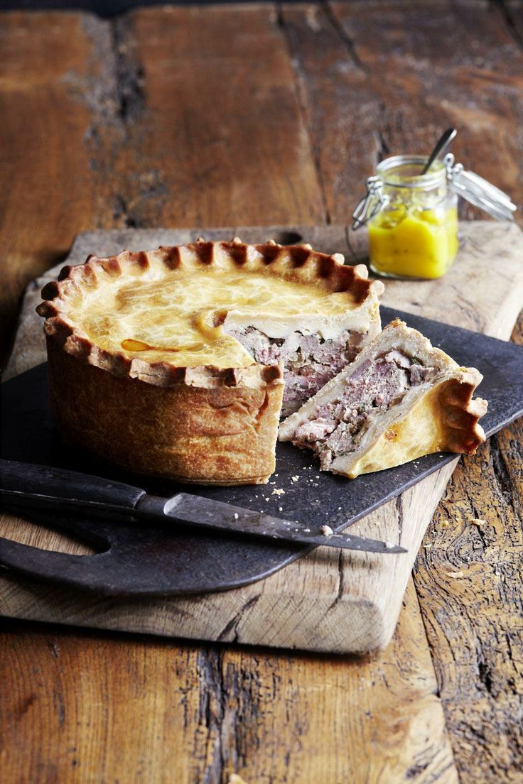 Game Pie, olive magazine, March 2014, recipe by Tom Kerridge