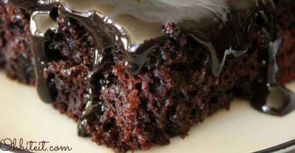 If you like chocolate, then you will love Another Midnight Fudge Cake Recipe. There is so much choco ...