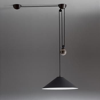 Artemide Aggregato Saliscendi pendant light with counterweight