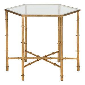 Kantai Mirrored Side Table