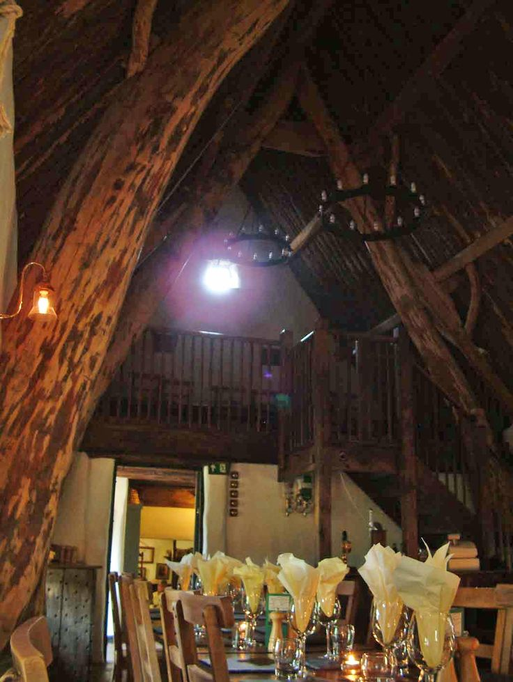 The Cruck Barn at the Craven Arms