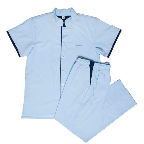 Chuck Poly celeste con azul - Oh Wear