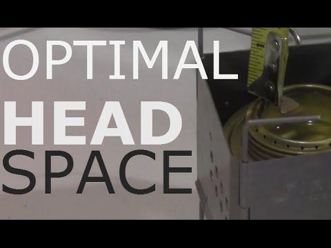 Headspace Performance Test / Alcohol Stove / Spirit Burner / Gen2 Nano