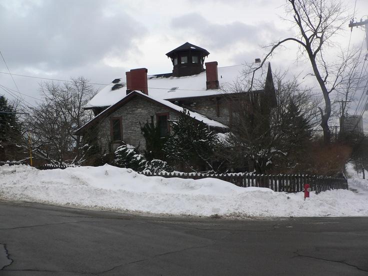 Early sea captain's house on Mt. Pleasant Avenue in Saint John,  New Brunswick.