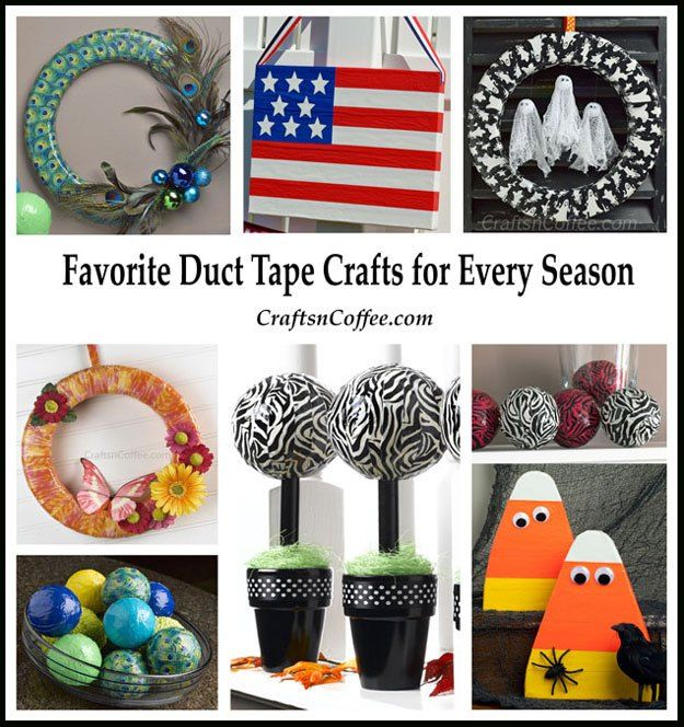 20 best images about duct tape crafts on pinterest for Duck tape craft ideas