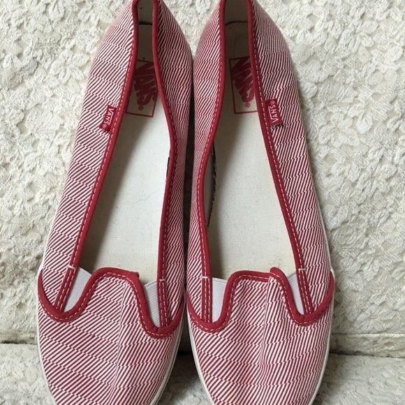 Vans Red women VANS slip on shoes Vans Shoes Sneakers