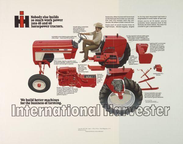 international 574 fuel filter fd