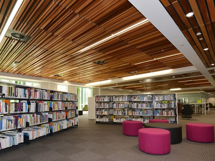 SUPATILE SLAT accessible slatted ceiling system combines a timber slatted look with easy install of a ceiling tile in a two-way T-bar grid. These pre-finished and sound absorbent slatted tiles quickly transform any area while allowing for 100% accessibility.