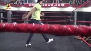 Harbhajan Singh Beats Great Khali Student in a Wrestling Match | CWE