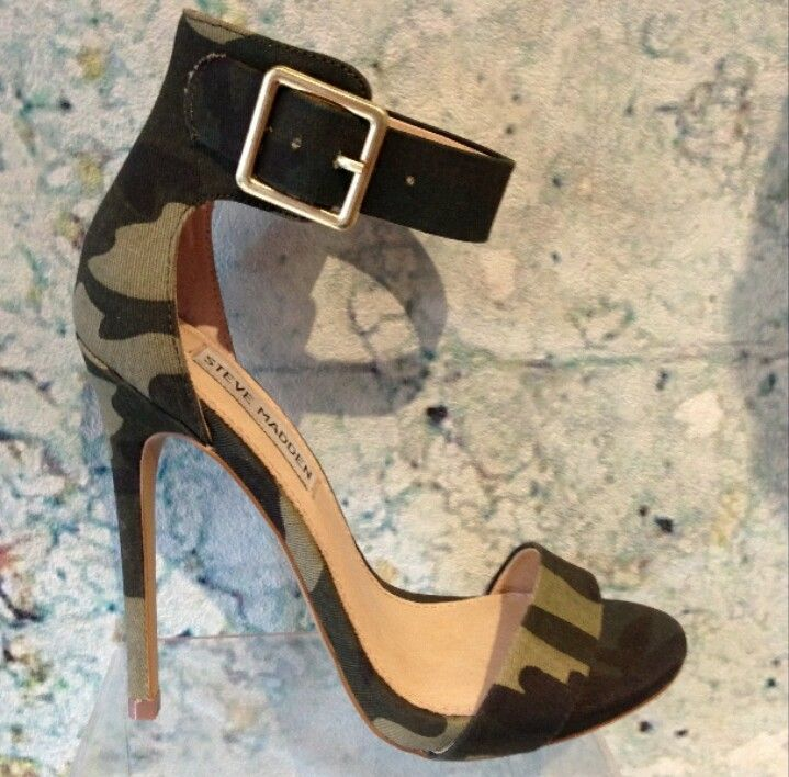 Camo-heels Steve Madden - I ordered a pair this week!