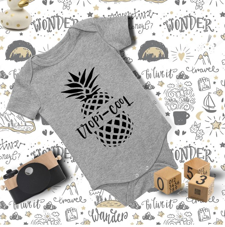 Baby Outfit/ Tropi-cool Onesie/ Baby Onesie/ Funny Baby Onesie/ Baby Girl Onesie/ Baby Boy Clothes/ Baby Shower Gift/ Baby Bodysuit by ooohtheplacesyoullgo on Etsy https://www.etsy.com/ca/listing/528764091/baby-outfit-tropi-cool-onesie-baby