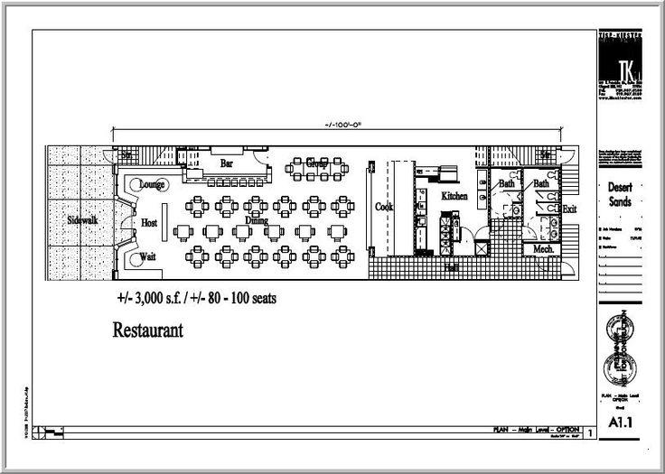 How To Create A Restaurant Floor Plan