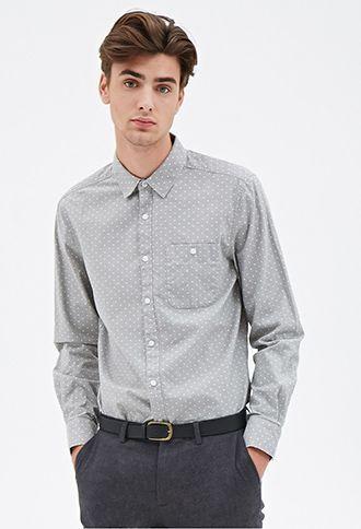 Street style tendance : Polka Dot Oxford Shirt