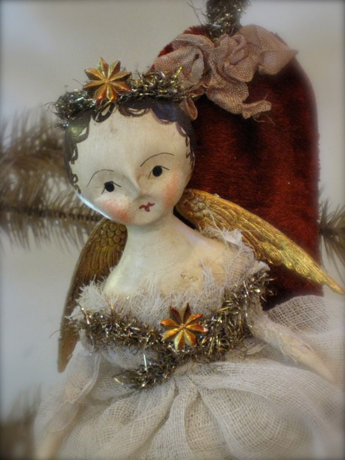 Lovely angel doll from Nicole