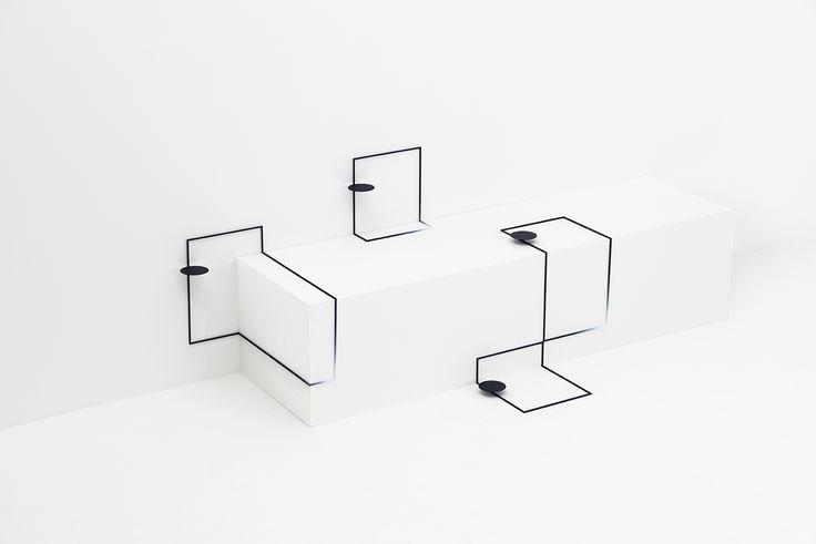 Свежая концепция стола от студии Nendo