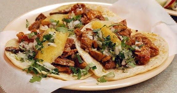 Como Preparar Carne Para Tacos Al Pastor Tacos Al Pastor Caseros Como Preparar Tacos Tacos De Pastor Receta