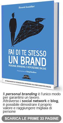Personal branding: Fai di te stesso un Brand.  by Rudy Bandiera. #personalbranding #smm