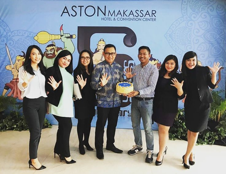 Happy 5th Anniversary Aston Makassar Hotel & Convention Center keep be the best with heartfelt services.
