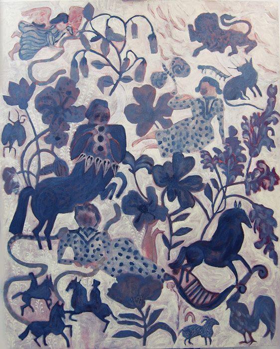 On a Copper Carpet of Oak Leaves - Cornelia O'Donovan