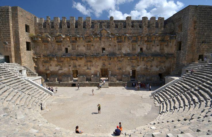 Aspendos theatre Antalya, Turkey #Tourist, #Attractions, #Antayla, #Turkey, #theater