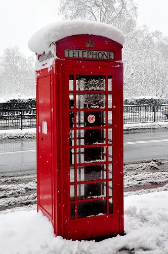 Red London Telephone Box - Oh the memories, coins, smells, chewing gum  drafts