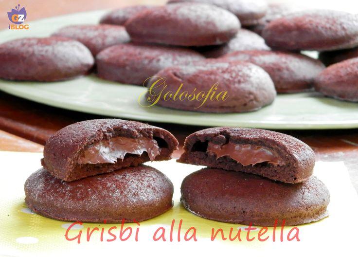 Grisbì alla nutella-ricetta biscotti-golosofia