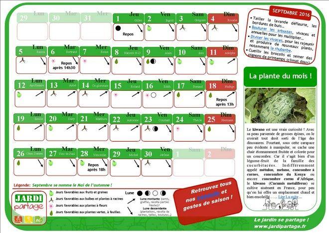 1000 id es sur le th me calendrier lunaire sur pinterest for Calendrier lunaire jardin janvier 2016