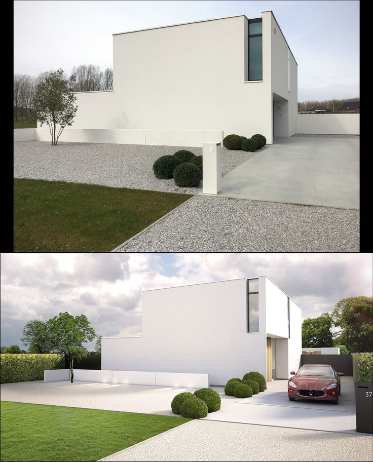 1029 best images about huis on pinterest - Landscaping modern huis ...