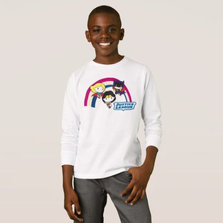 Chibi Justice League Rainbow T-Shirt - tap, personalize, buy right now!